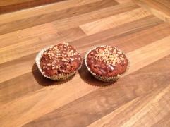 Krokant-Nussnougat-Muffins