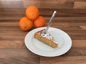 Würziger Orangenkuchen 'mal anders'