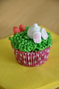 Schoko-Nuss-Nougat-Muffins - 'Hasen-Popo'