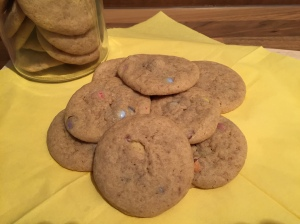 schnelle Cookies mit Smarties