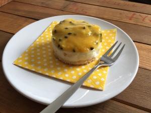 Mango-Maracuja-Joghurt-Törtchen