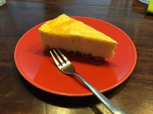 Pfirsichcreme-Törtchen mit Schoko-Knusperboden