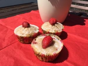 Erdbeer-Buttermilch-Muffins