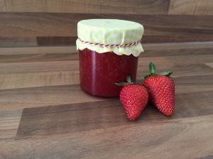 Erdbeer-Holunder-Marmelade