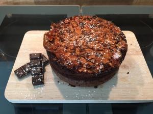 Mandel-Schokoladenkuchen