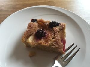 Brombeer-Apfel-Kuchen
