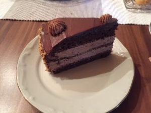 Schoko-Haselnuss-Nougat-Torte