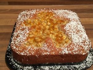 Apfel-Vanillecreme-Kuchen