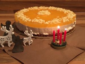 Spekulatius-Orangen-Torte