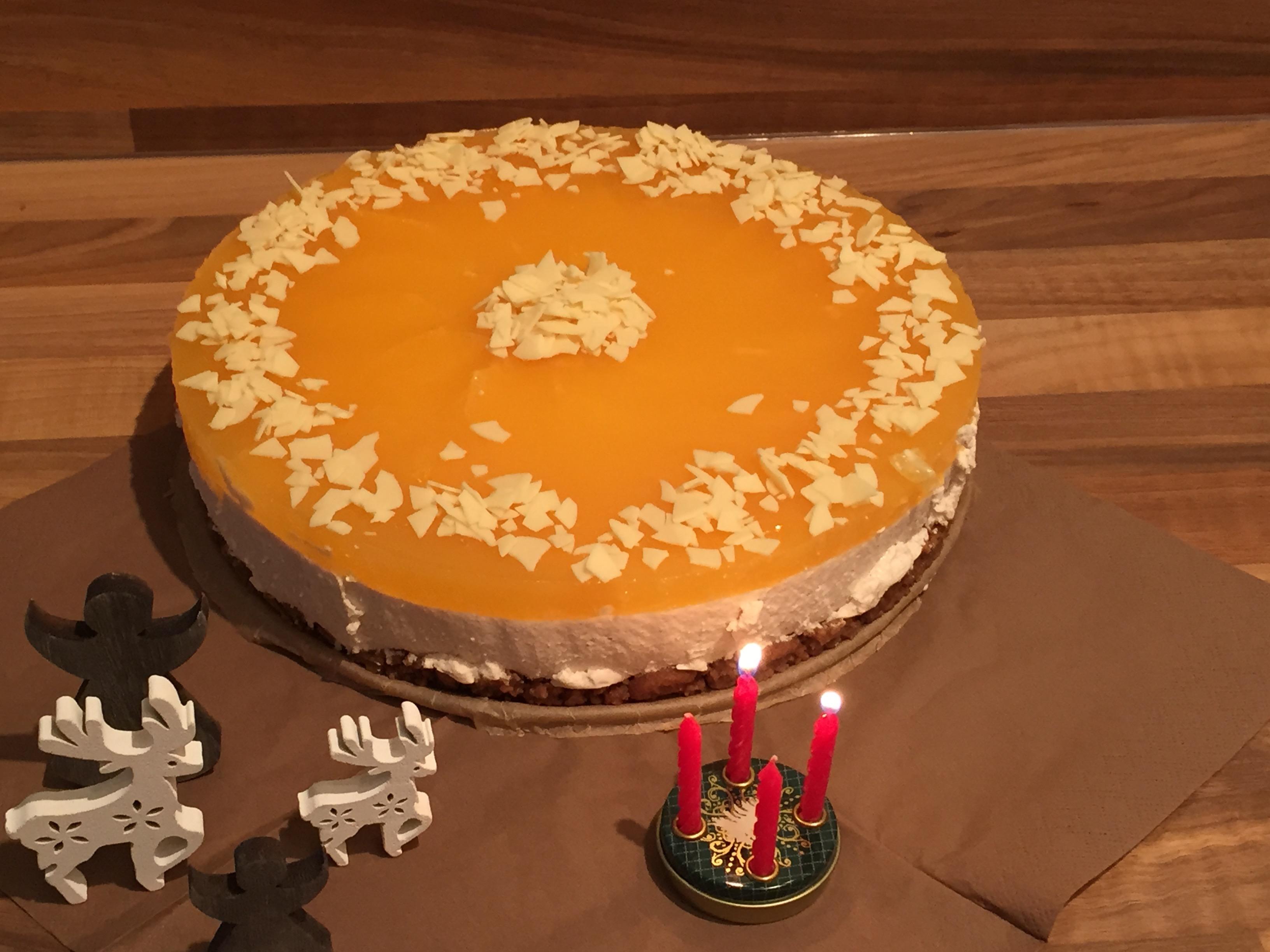 Spekulatius Orangen Torte Das Muffin Madchen