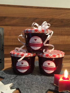 Lebkuchen-Kirsch-Marmelade