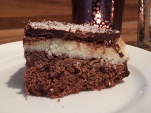 Schoko-Kokos-Kuchen 'Bounty'