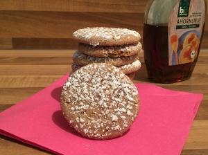 Cookies mit Ahorn-Sirup