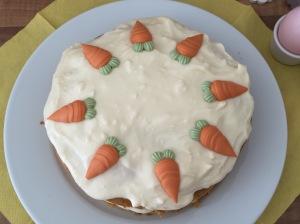 saftiger Möhrenkuchen mit Cream-Cheese-Frosting