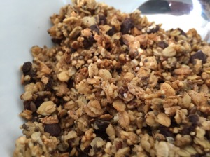 süßes Schokoladen-Granola