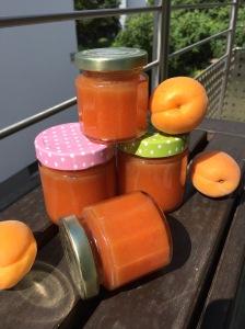 Pfirsich-Aprikosen-Marmelade mit Rosmarin