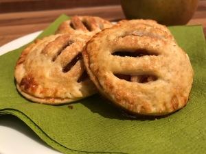 knusprige Mini-Apfel-Taschen