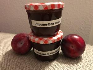 Pflaumenmarmelade mit Balsamico