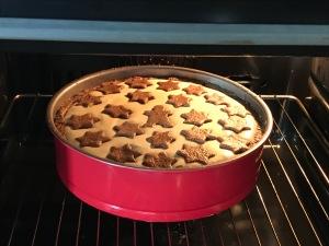 Weihnachtlicher Lebkuchen-Zupfkuchen