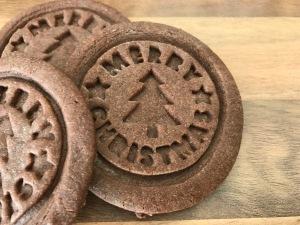 Lebkuchen-Stempel-Cookies