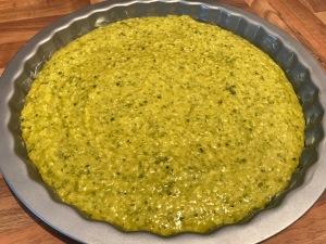 Pistazien-Tarte mit Kokos und Olivenöl